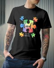 Be Kind Puzzle Pieces Cute Autism Awareness Classic T-Shirt lifestyle-mens-crewneck-front-6