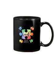 Be Kind Puzzle Pieces Cute Autism Awareness Mug thumbnail