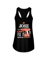 IF JOSE CAN'T FIX IT Ladies Flowy Tank thumbnail