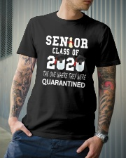 Class of 2020 Senior Quarintine Gift Graduation Classic T-Shirt lifestyle-mens-crewneck-front-6