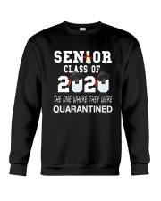 Class of 2020 Senior Quarintine Gift Graduation Crewneck Sweatshirt thumbnail