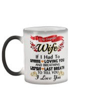 Gift for wife Color Changing Mug color-changing-left