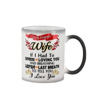 Gift for wife Color Changing Mug color-changing-right