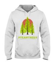 TEAMTREES 20 Million TREES 2020 trees Hooded Sweatshirt front