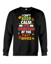 i cant keep calm its christmas at the post office  Crewneck Sweatshirt thumbnail
