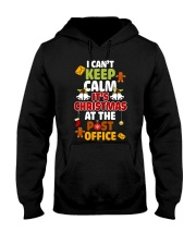 i cant keep calm its christmas at the post office  Hooded Sweatshirt thumbnail