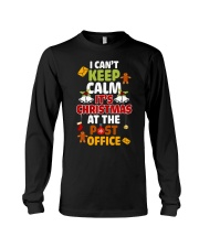 i cant keep calm its christmas at the post office  Long Sleeve Tee thumbnail