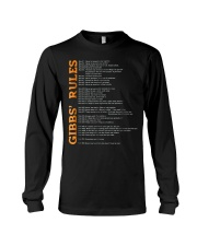 gibbs rules t shirt hgf Long Sleeve Tee thumbnail