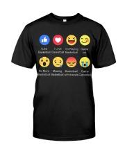 basketball emoji shirt Classic T-Shirt thumbnail