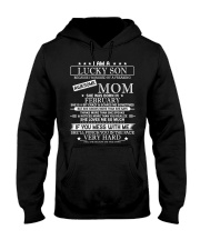 Mens I Am A Lucky Son Raised By A Freaking Awesome Hooded Sweatshirt thumbnail