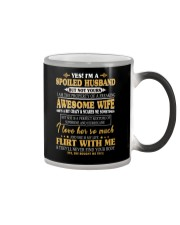 A Spoiled Husband The Property Of A Freaking Wife Color Changing Mug thumbnail