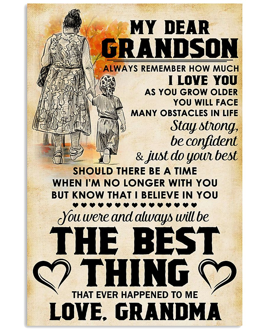 MY DEAR GRANDSON 11x17 Poster