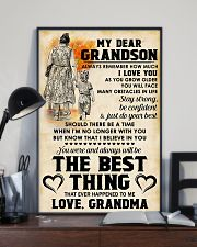 MY DEAR GRANDSON 11x17 Poster lifestyle-poster-2