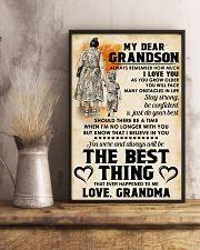 MY DEAR GRANDSON 11x17 Poster lifestyle-poster-3