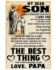 MY DEAR SON - LOVE PAPA 11x17 Poster front