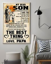 MY DEAR SON - LOVE PAPA 11x17 Poster lifestyle-poster-1