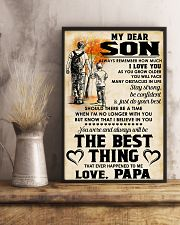 MY DEAR SON - LOVE PAPA 11x17 Poster lifestyle-poster-3