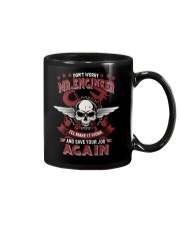 Machinist Not Worry Engineer Save Your Job Again Mug thumbnail