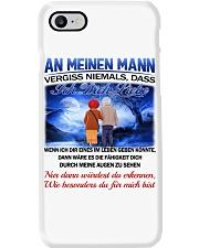 AN MEINEN MANN - ICH DICH LIEBE Phone Case tile