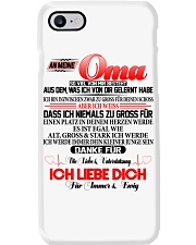 AN MEINE OMA Phone Case tile