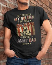 Proud Army Dad Military Father Funny Fathers Day Classic T-Shirt apparel-classic-tshirt-lifestyle-26