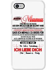 AN MEINE MAMA Phone Case tile