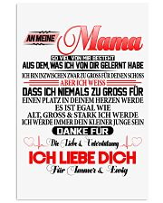 AN MEINE MAMA Vertical Poster tile