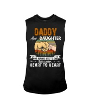 Amazing Daddy And Daughter Not Always Eye To Eye Sleeveless Tee thumbnail