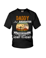 Amazing Daddy And Daughter Not Always Eye To Eye Youth T-Shirt thumbnail