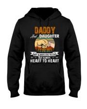 Amazing Daddy And Daughter Not Always Eye To Eye Hooded Sweatshirt thumbnail