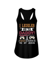 Leveled up to Daddy-VintageGamer-Promoted to Daddy Ladies Flowy Tank thumbnail