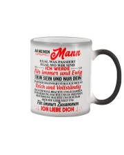 AN MEINEN MANN Color Changing Mug color-changing-right