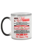 AN MEINEN MANN - ICH LIEBE DICH Color Changing Mug color-changing-left