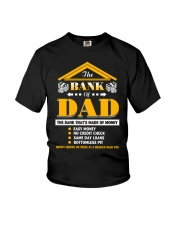The Bank Of Dad The Bank That's Made Of Money Youth T-Shirt thumbnail