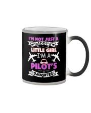 Mens Pilot Dad I'm Not Just Daddy Daughter Gifts Color Changing Mug thumbnail
