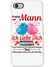 An Meinen Mann - Ich Liebe Dich Phone Case thumbnail