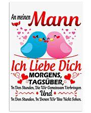 An Meinen Mann - Ich Liebe Dich 11x17 Poster thumbnail