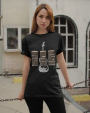 Guitarist Dad Fathers Day Guitar Chords Classic T-Shirt apparel-classic-tshirt-lifestyle-19