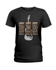 Guitarist Dad Fathers Day Guitar Chords Ladies T-Shirt thumbnail