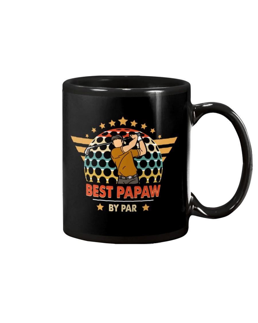 Best Papaw By Par Daddy Father's Day Mug