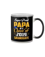 Super Proud Papa Of A 2019 Graduate Senior T-Shirt Color Changing Mug thumbnail