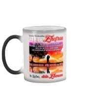 AN MEINE EHEFRAU - DEIN EHEMANN Color Changing Mug color-changing-left