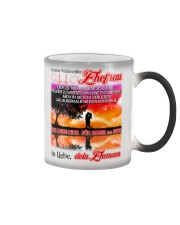 AN MEINE EHEFRAU - DEIN EHEMANN Color Changing Mug color-changing-right