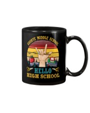 Teacher Goodbye Middle School Hello High School Mug thumbnail