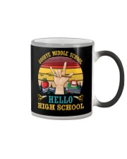 Teacher Goodbye Middle School Hello High School Color Changing Mug thumbnail