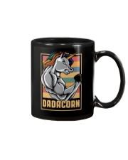 Dadacorn Unicorn Muscle Baby FathersDay  Mug thumbnail