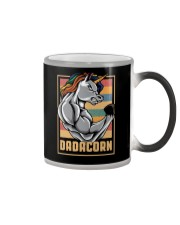 Dadacorn Unicorn Muscle Baby FathersDay  Color Changing Mug thumbnail