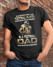 Behind Every Football Player is A Football Dad Classic T-Shirt apparel-classic-tshirt-lifestyle-26