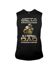 Behind Every Football Player is A Football Dad Sleeveless Tee thumbnail