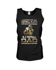 Behind Every Football Player is A Football Dad Unisex Tank thumbnail
